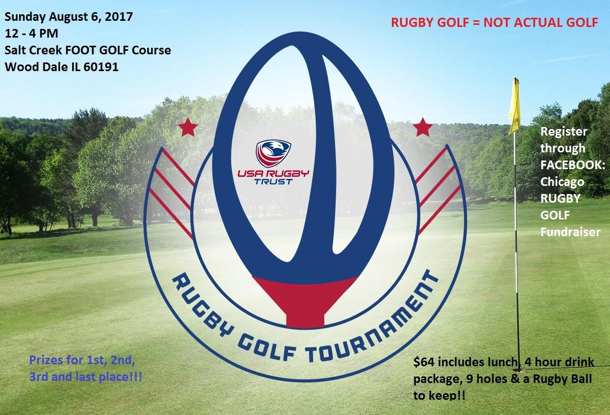 Rugby Golf Tournament Salt Creek Golf Club